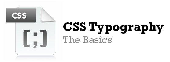 CSS Typography Six Revisions