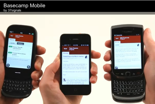 37signals Cinco? A New Mobile Web-App Framework in theWorks