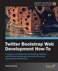 Twitter Bootstrap Web Development Book Cover image