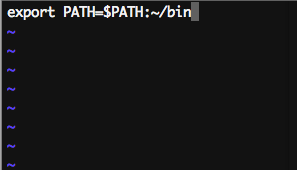Sublime Export Path